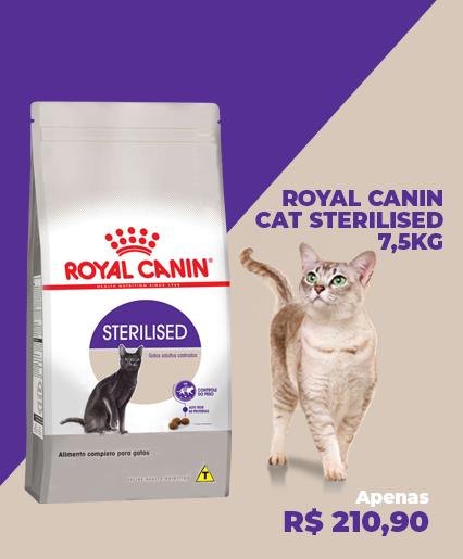 ROYAL CANIN STERILISED 7,5KG