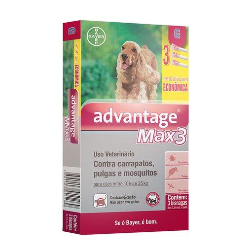 ANTIPULGAS ADVANTAGE MAX 3 CAES G 2,5ML
