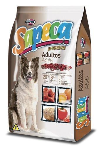 Ração Sapeca para Cães Adultos 10,1Kg