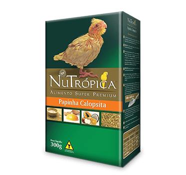 NUTROPICA PAPINHA CALOPSITA 300G
