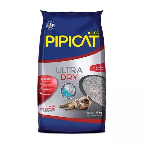 AREIA SANITARIA PIPICAT ULTRA DRY 4KG