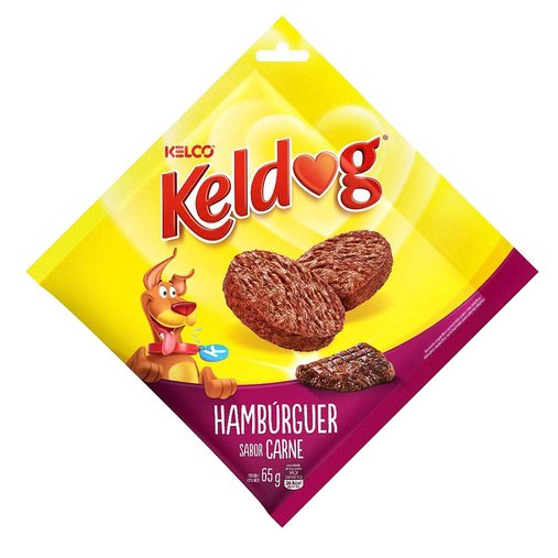 BIFINHO KELDOG HAMBURGUER 65G