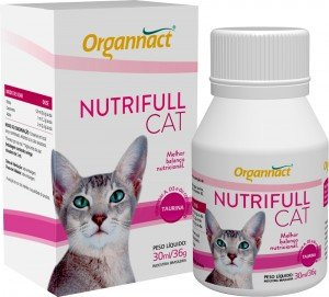 SUPLEMENTO ORGANNACT NUTRIFULL CAT 30ML