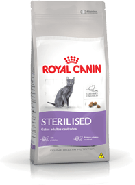 Ração Royal Canin Sterilised para Gatos Adultos Castrados 7,5Kg