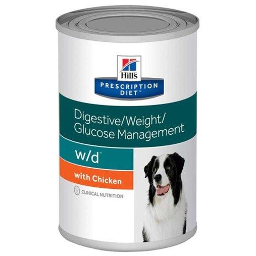 HILLS CANINE DIGESTIVE WEIGHT GLUCOSE MANAGEMENT W/D 370G
