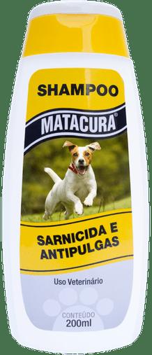MATACURA SHAMPOO ANTIPULGAS SARNICIDA 200ML