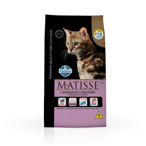 Ração Matisse para Gatos Castrados Sabor Cordeiro 7,5Kg