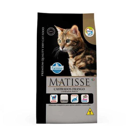 Ração Matisse para Gatos Castrados Sabor Frango 800g