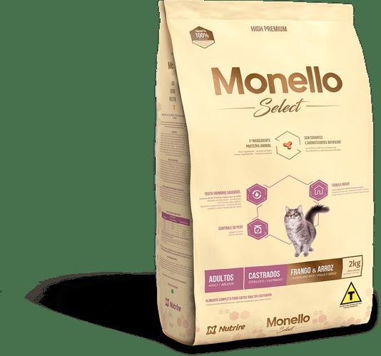 MONELLO SELECT GATO CASTRADO 2KG
