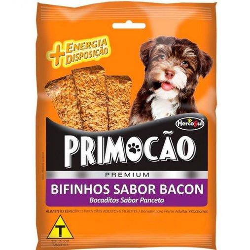 Bifinho Primocão para Cães Sabor Bacon 60g