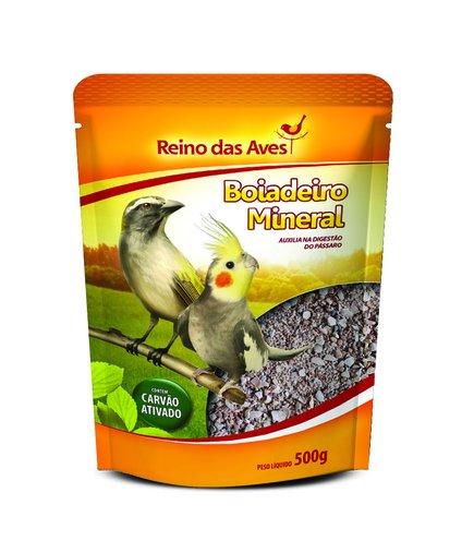 REINO DAS AVES BOIADEIRO MINERAL 500GR