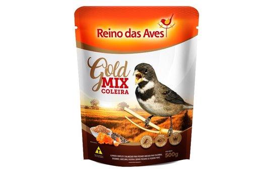 REINO DAS AVES COLEIRA GOLD MIX 500G