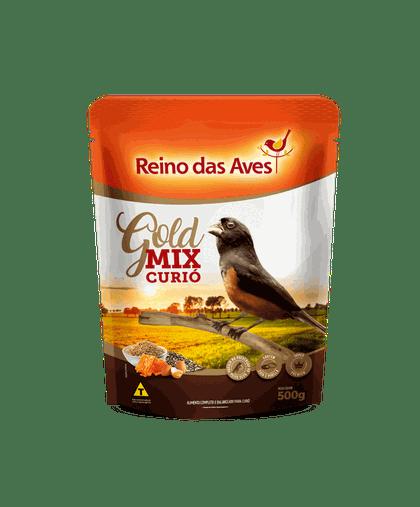 REINO DAS AVES CURIO GOLD MIX 500G