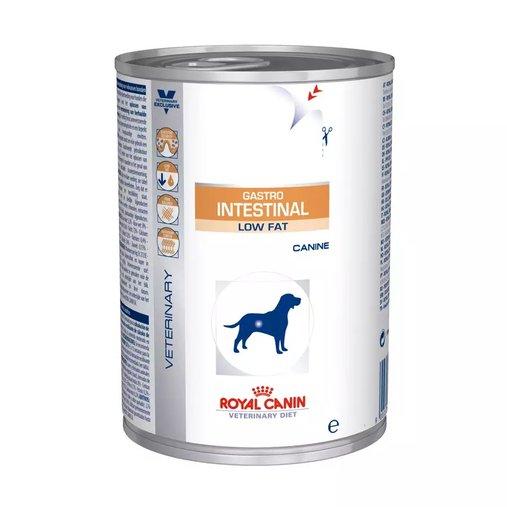 Patê Royal Canin Gastro Intestinal Low Fat para Cães Adultos Wet 410g