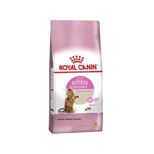 Ração Royal Canin Kitten Sterilised para Gatos Filhotes 7,5Kg