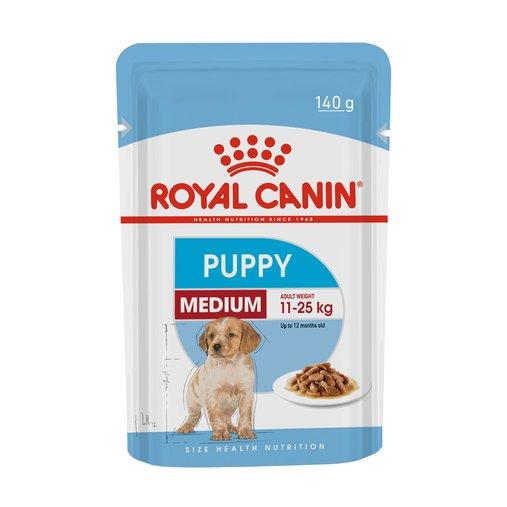 Sachê Royal Canin Medium Wet para Cães Filhotes 140g