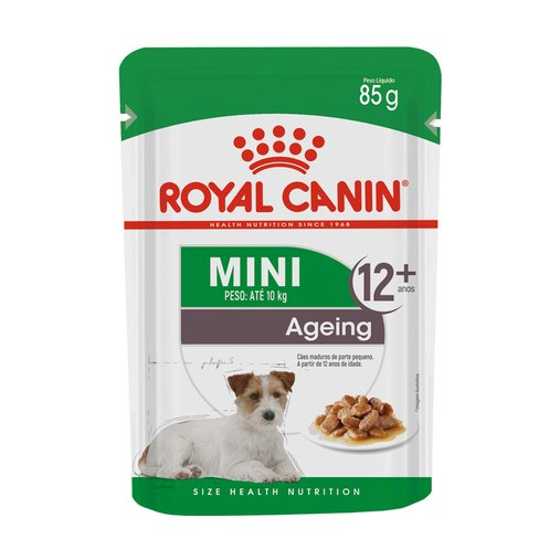 Sachê Royal Canin Mini Ageing Wet para Cães Adulto 85g