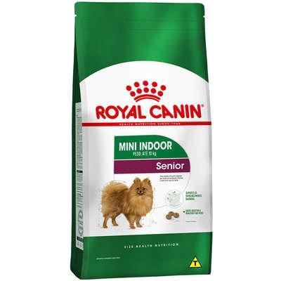 Ração Royal Canin Mini Indoor para Cães Sênior 1Kg
