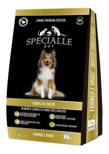 SPECIALLE PET CANINE FRANGO E ARROZ 15 KG