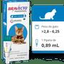 ANTIPULGA E CARRAPATICIDA BRAVECTO PARA GATO DE 2,8 A 6,25KG
